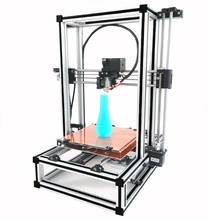 Aluminium alloy Upgraded version 3D printer suite high precision DIY Kit platform Assembly completed