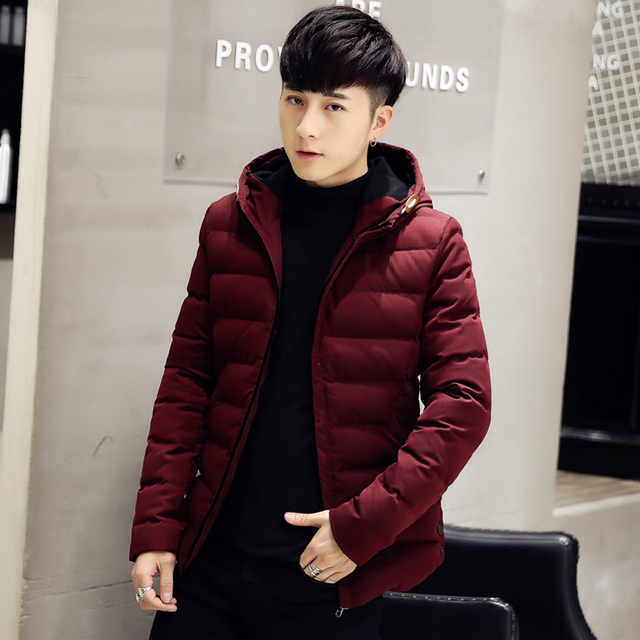 Winter Jacket Men 2016 Men Cotton Blend Coats Zipper Mens Jacket Casual Thick Outwear For Men Asia Size 4XL Clothing Male