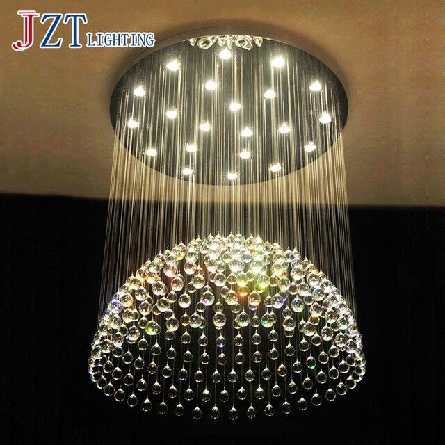 J Bester Preis Moderne Deckenleuchten Led Kreis Lampe K9 Kristall Wohnzimmer Lichter Helle Droplight Mode