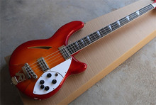 New Factory Custom cherry red burst 4 strings rickenback 360 bass electric guitar R 330 free shipping