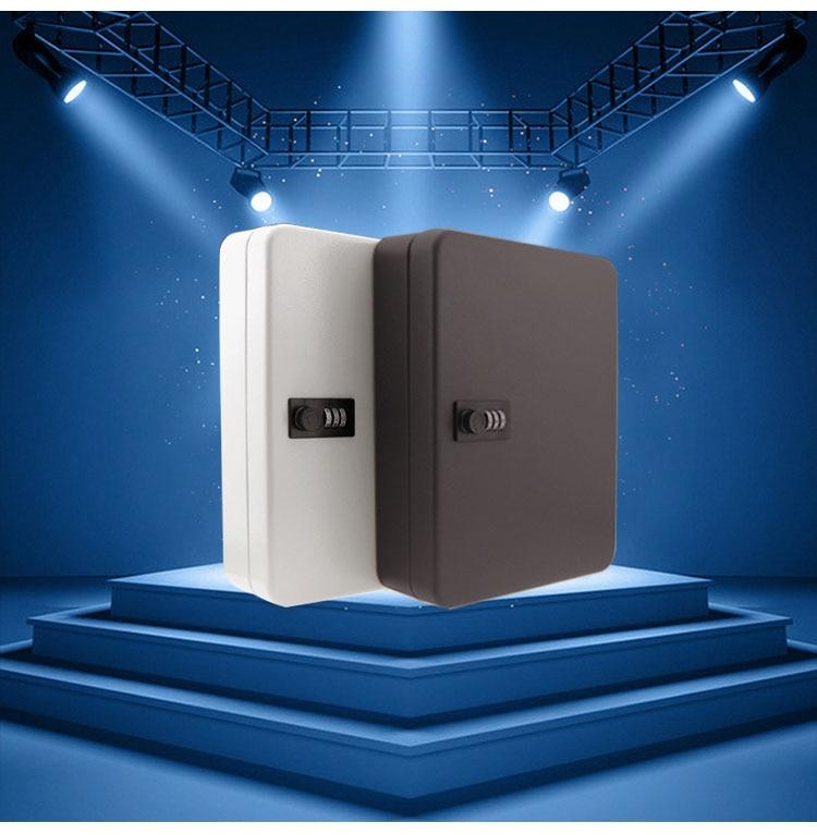 Купить с кэшбэком Combination 36 Key Cabinet Lockable Key Safe Storage Box Wall Mounted with Key Tags black