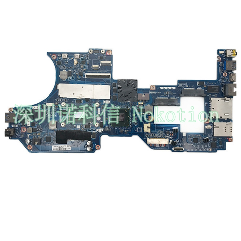 NOKOTION Laptop motherboard for Lenovo Thinkpad S230u Laptop motherboard FRU 04Y1530 La-8671p i5-3317U CPU 4gb RAM memory