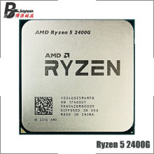 AMD Ryzen 5 2400G R5 2400G 3.6 GHz Quad-Core Eight-Thread 65W CPU Processor YD2400C5M4MFB Socket AM4(China)