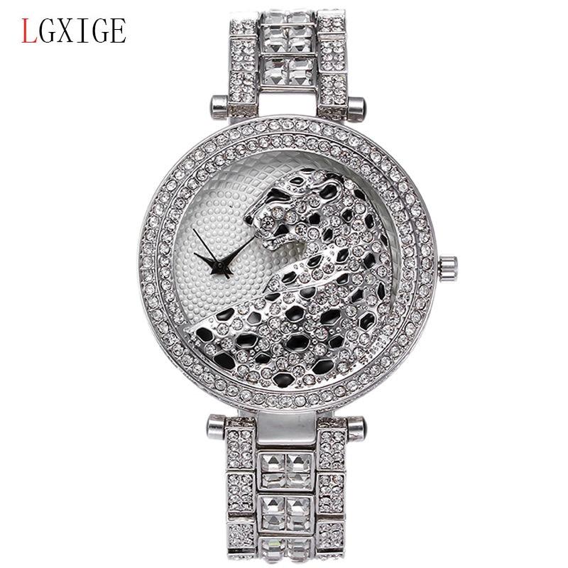 LGXIGE relojes de alta calidad de las mujeres de lujo resistente al - Relojes para mujeres