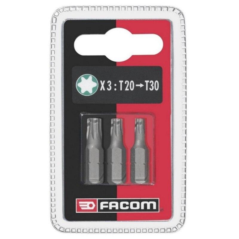 FACOM EX12.J3-juego De 3 Tips T20-30