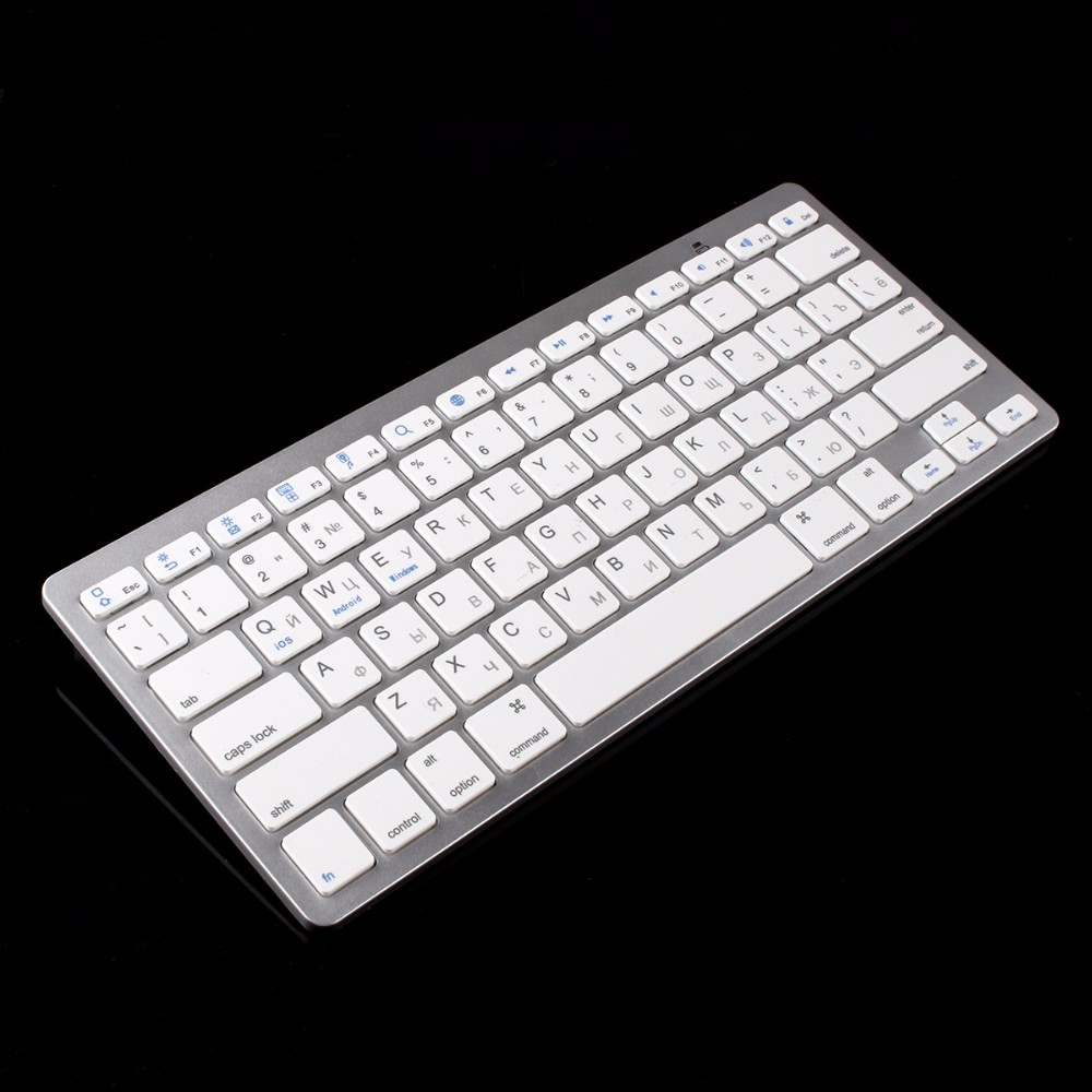 kemile Russian Language Wireless Bluetooth 3.0 keyboard for Samsung tablet&Smart phone Lenove and Huawei Android Windows System image