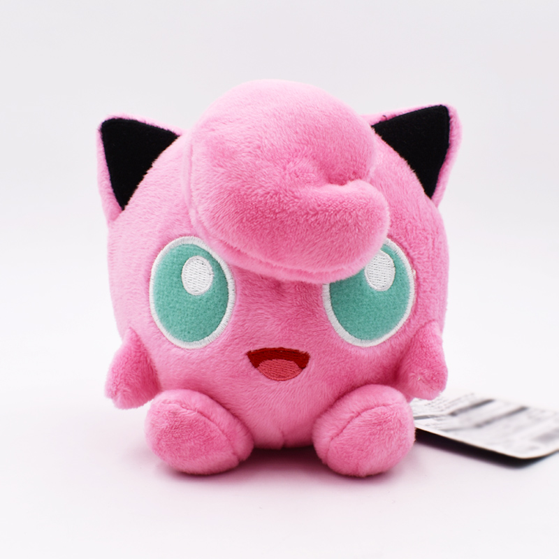 12cm Jigglypuff Plush Peluche Toys Stuffed Soft Animals Baby Dolls Great Christmas Gifts For Children Free Shipping