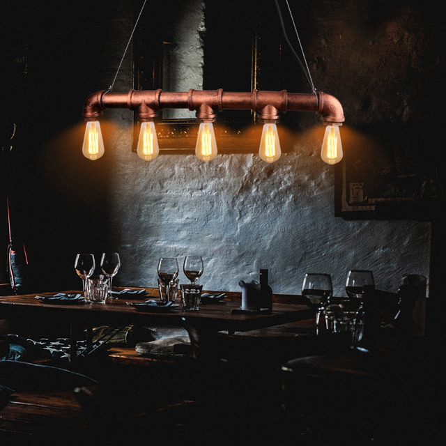 Vintage Edison hanglamp Retro Gepersonaliseerde Bar Verlichting ...