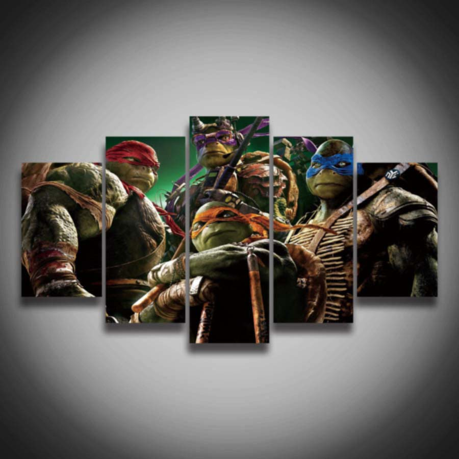 Peinture chambre tortue ninja for Peinture en ligne