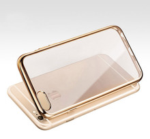 Luxury Thin Silicone Clear Phone Cases For Soft TPU Cover For Iphone 5 5S SE 6 6S Plus Colorfull For Iphone 7 8 Plus Capa