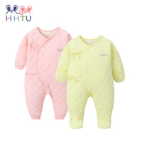 HHTU 2017 New Arrival Baby Rompers Quilted Cotton Infant Jumpsuit Newborn Baby Clothes Baby Clothing For