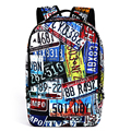 Material escolar mochila impressão mochilas mulheres mochilas feminina completa homens rugzak 3d back pack bolsas meninos schoolbag mochila