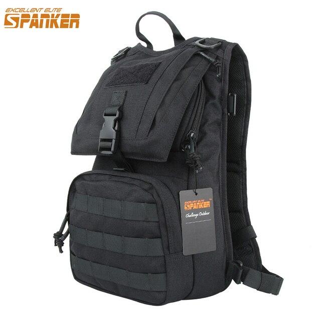 Excelente mochila de hidratación militar MOLLE ELITE para caza con términos de doble uso EDC bolsa táctica impermeable mochilas de senderismo