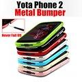 Teléfono 2 case yota yotaphone 2 marco de metal de alta calidad de parachoques de aluminio para yota yotaphone 2 case