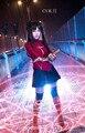 Envío gratis Fate stay night Zero Rin Tohsaka traje de Cosplay personalizado