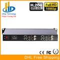 DHL Frete Grátis Chassis 1U 4 Canais HDMI + CVBS/Composto + Áudio HD Codificador De Vídeo H.264 Para IPTV, Live Streaming, CCTV