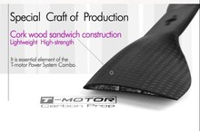 T-Motor CF prop 20*6 Inch 100% Carbon Fiber Propeller for Commerical Drone UAV Aircraft