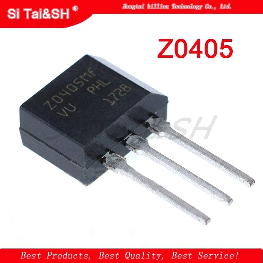 10PCS  X0405MF  X0405 Z0405 Three-terminal Thyristor 4A / 600V TO-202