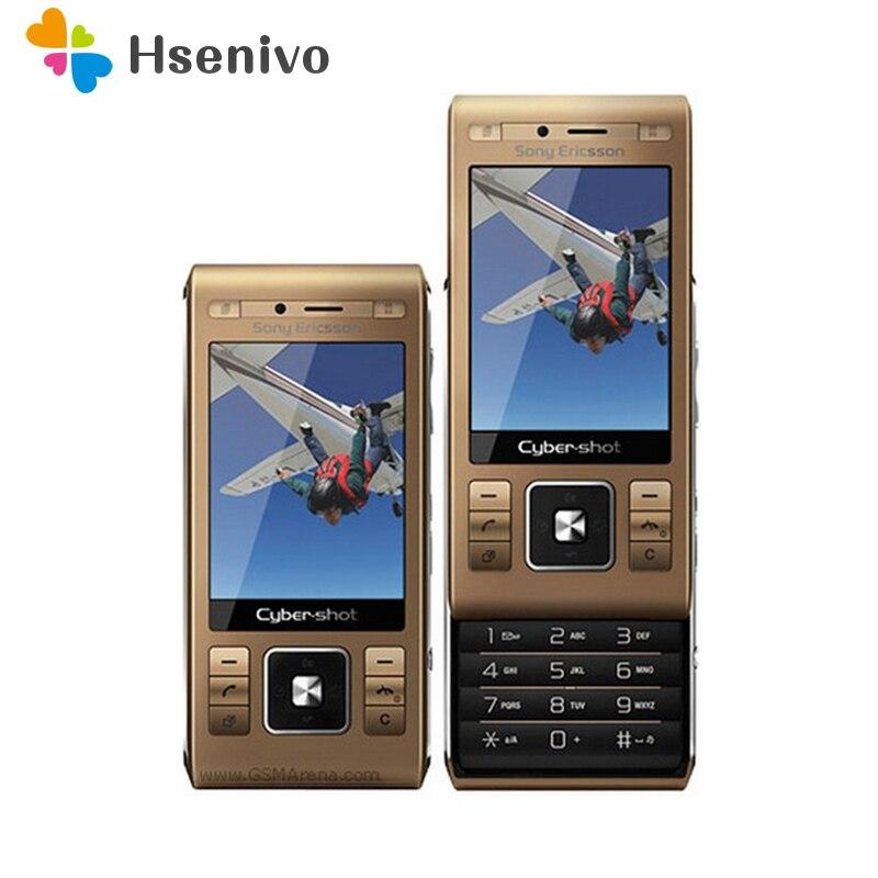 100% Original Sony Ericsson C905 téléphone Mobile 8MP WIFI Bluetooth 3G GSM débloqué C905 téléphone portable un an de garantie livraison gratuite