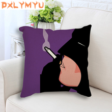 45cm*45cm Super Hero Spiderman Batman Smoke Art Prints Cushion Cover Sofa Pillow Case Home Decorative