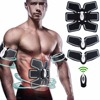 Rechargeable Wireless Muscle Stimulator EMS Stimulation Body Slimming Abdominal Muscle Exerciser Training Device Body Massager