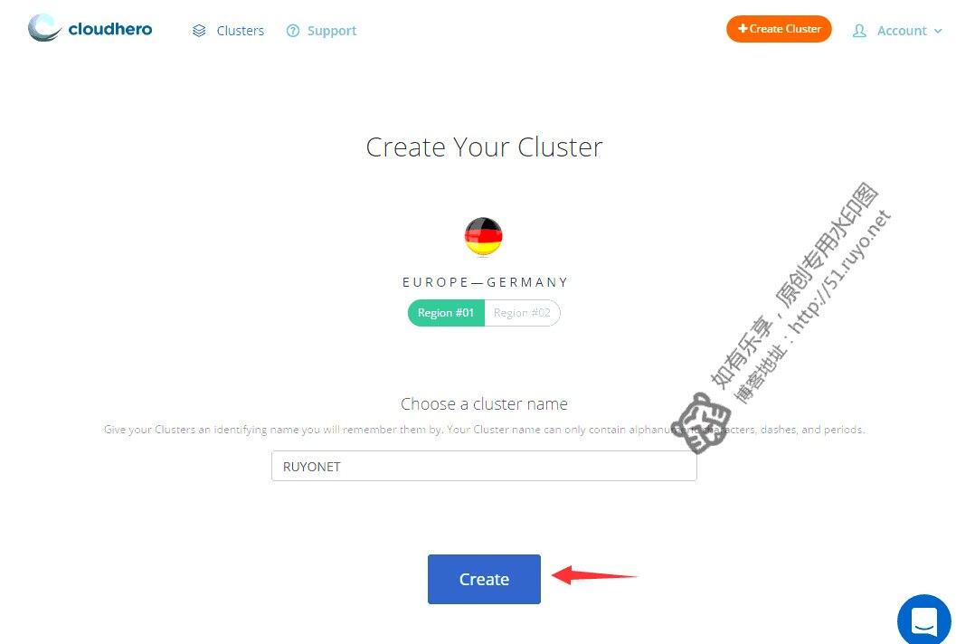 cloudhero.io数据中心选择