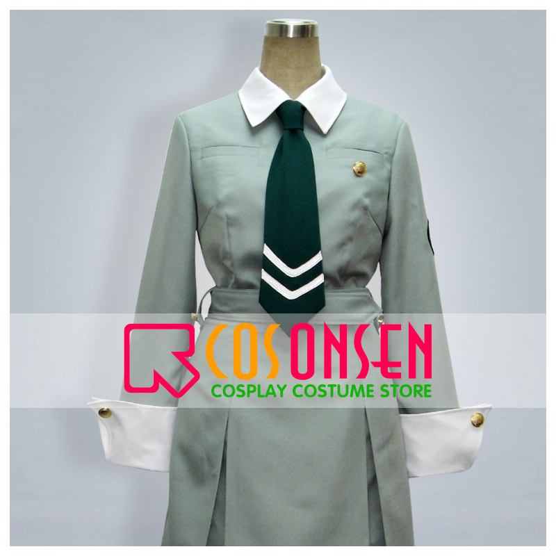 COSPLAYONSEN Persona St ERUMIN Girl School Uniform Green Color All Sizes Custom Made