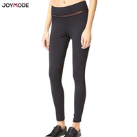 JOYMODE Yoga Pants Women 2018 Sex Pattern Skinny Running Sport Leggings Breathable Stretched Cropped Gym Fintess