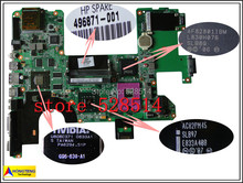 original 496871-001 for HP HDX18 laptop motherboard PM45 with NVIDIA Graphics card DDR2 100% Test ok