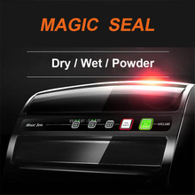 NEW Vacuum sealer Packer food vacuum sealing machine plastic bags machine Commercial for wet dry machine small package Container цены
