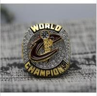 2016 Cleveland Cavaliers Basketball National Championship Ring James 23 Alloy Solid 10 And 11 Size
