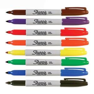 Image 4 - 24 Pcs/set New Arrival!!! Sanford Sharpie 31993 Eco friendly Fine Point 1MM Permanent Art Marker Pen