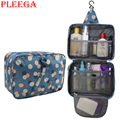 PLEEGA Brand Women Travel Wash Supplies Hang Bag Multifunction Folding Travel Bag Cosmetics Makeup Wash Supplies Organizer Bags