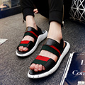 2016 New Fashion Men Y3 Sandals PU Air Cushion Man Casual Mans Footwear Gladiator Sandals Shoes Sandalias Hombre Zapatos Hombre