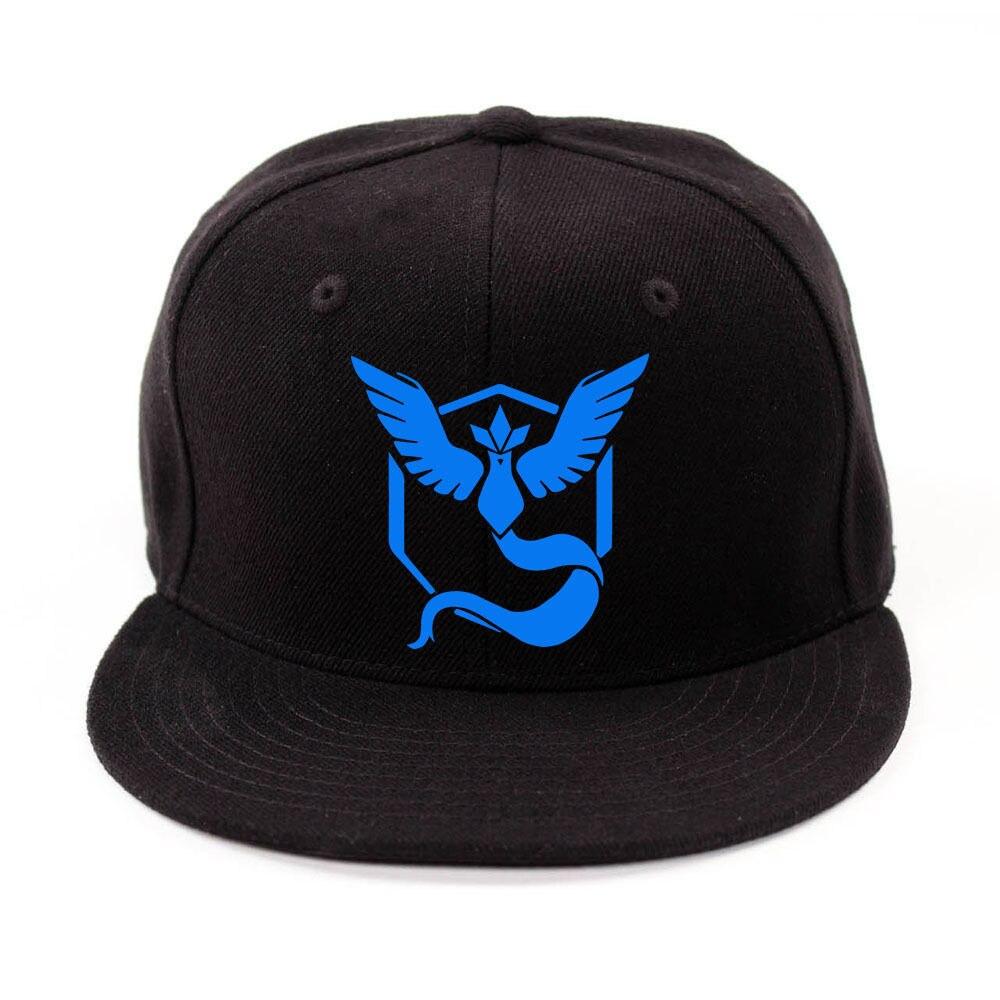 Cosplay Mobile game Pokemon Go Team Valor Team Mystic Team Instinct snapback  baseball Cap hat-in Baseball Caps from Apparel Accessories on  Aliexpress.com ... ad58b33b0520