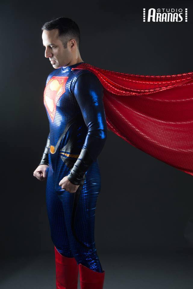 Superman Halloween Costume Men