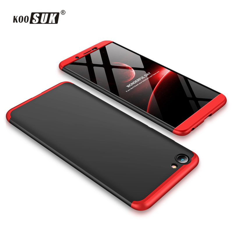 wholesale dealer 9eb9f 54f9c US $3.99 20% OFF|360 Full Protect Case For Vivo Y71 Case 3 in 1 Stitching  Color Back Cover For VIVO Y 71 Slim Fashion Matte Phone Shell Koosuk-in ...