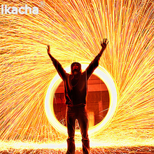 Trending Photography Spectacular Fiery Photo Selfie Tool Steel Wool High Quality Metal Fiber for Light Painting Long exposure