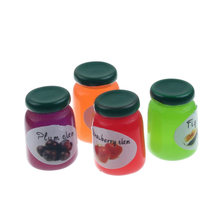 20Pcs 15x10mm Resin Jam Jar Decoration Crafts Flatback Cabochon Figurines & Miniatures For Home Decoration Accessories