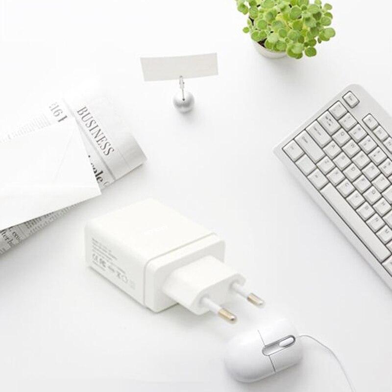 STOD Dubbel USB-laddare 30W Quick Charge 3.0 2.4A-port för IPhone - Reservdelar och tillbehör för mobiltelefoner - Foto 6