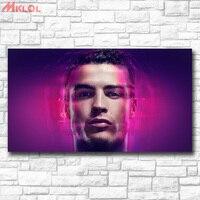 Fashion Wall Picture Cristiano Ronaldo Photo Home Decor On Canvas Modern Wall Art Canvas Print Poster