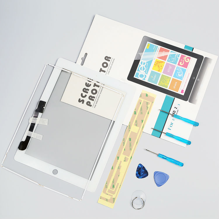 Selfless 1pcs New Touch Screen Glass Digitizer Assembly With Professional Repair Kit Lcdfor Ipad 3 Assembly A1416 A1403 A1430 Promoting Health And Curing Diseases