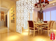 Cut off the entrance curtain Stylish living room entrance Guabing Hanging shoe carved biombo Sirma Partition screen for the room