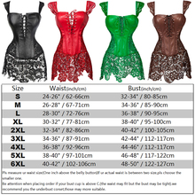 Women's Gothic Steampunk Clothing Corset Bustier Top Sexy Lingerie Leather Lace up Overbust Burlesque Basque Corset Dress S-6XL