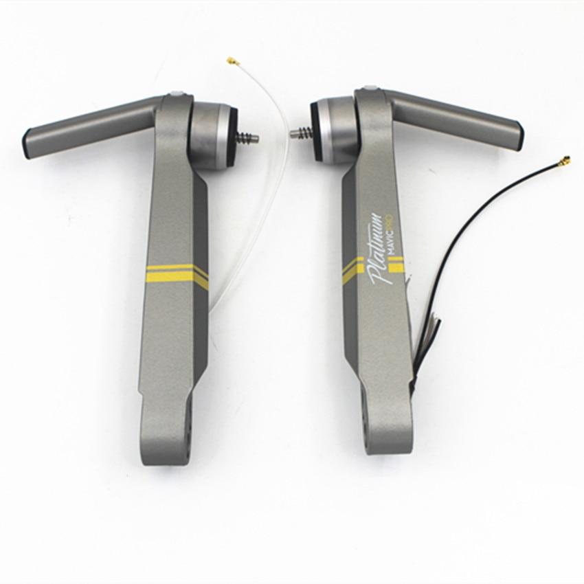 100% tout nouveau Original Mavic Pro platine moteur bras pièces de rechange pour DJI Mavic Pro train d'atterrissage jambe bras réparation remplacement-in Train d'atterrissage from Electronique    3