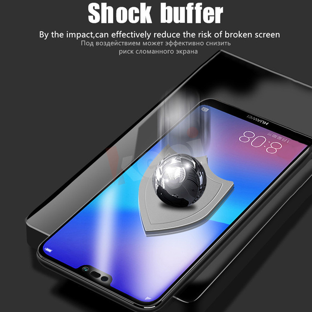 Screen Protector Hydrogel Film For Huawei P40 P20 P30 Lite Protective Film For Honor Mate 30 20 40 Pro 10 i Lite Film Not Glass 4