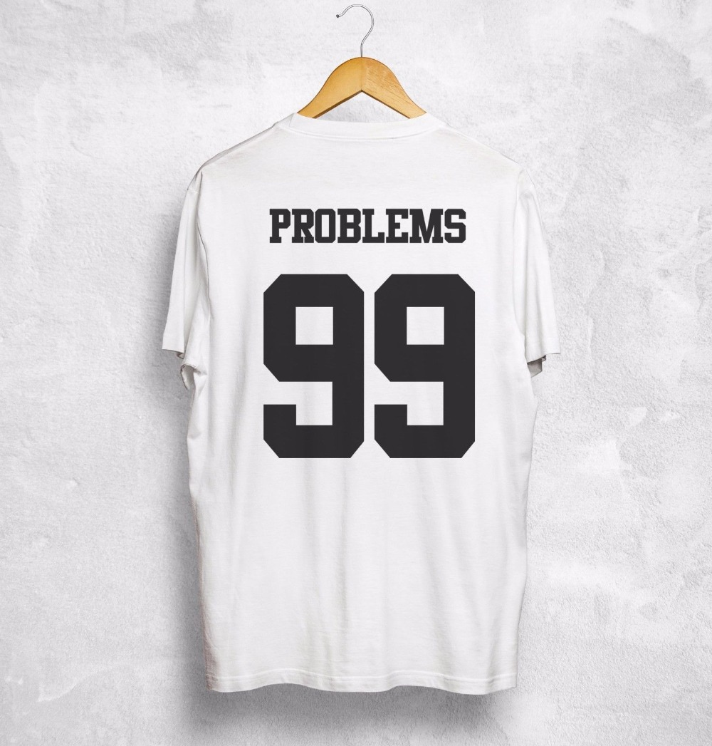 2019 Hot Sale I Got 99 Problems But Ain't 1 One T Shirt Valentines King Queen Gift Wifey Love Tee shirt