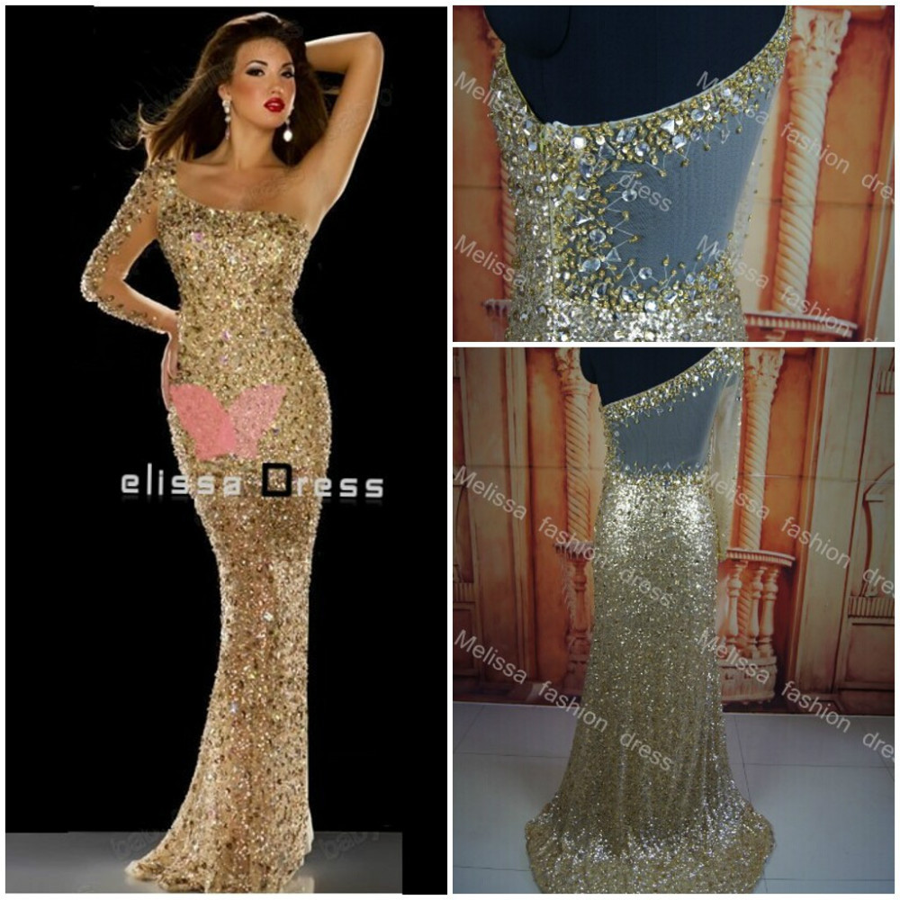 Hot sale Newest 2014 Actual images Stunning Evening Dresses Long ...