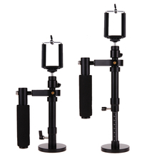 Adjustable Handheld Video Shooting Stabilizer Steadycam Steadicam for SJCAM Gopro DSLR Cameras for IPhone 6 7 Plus Samsung Phone