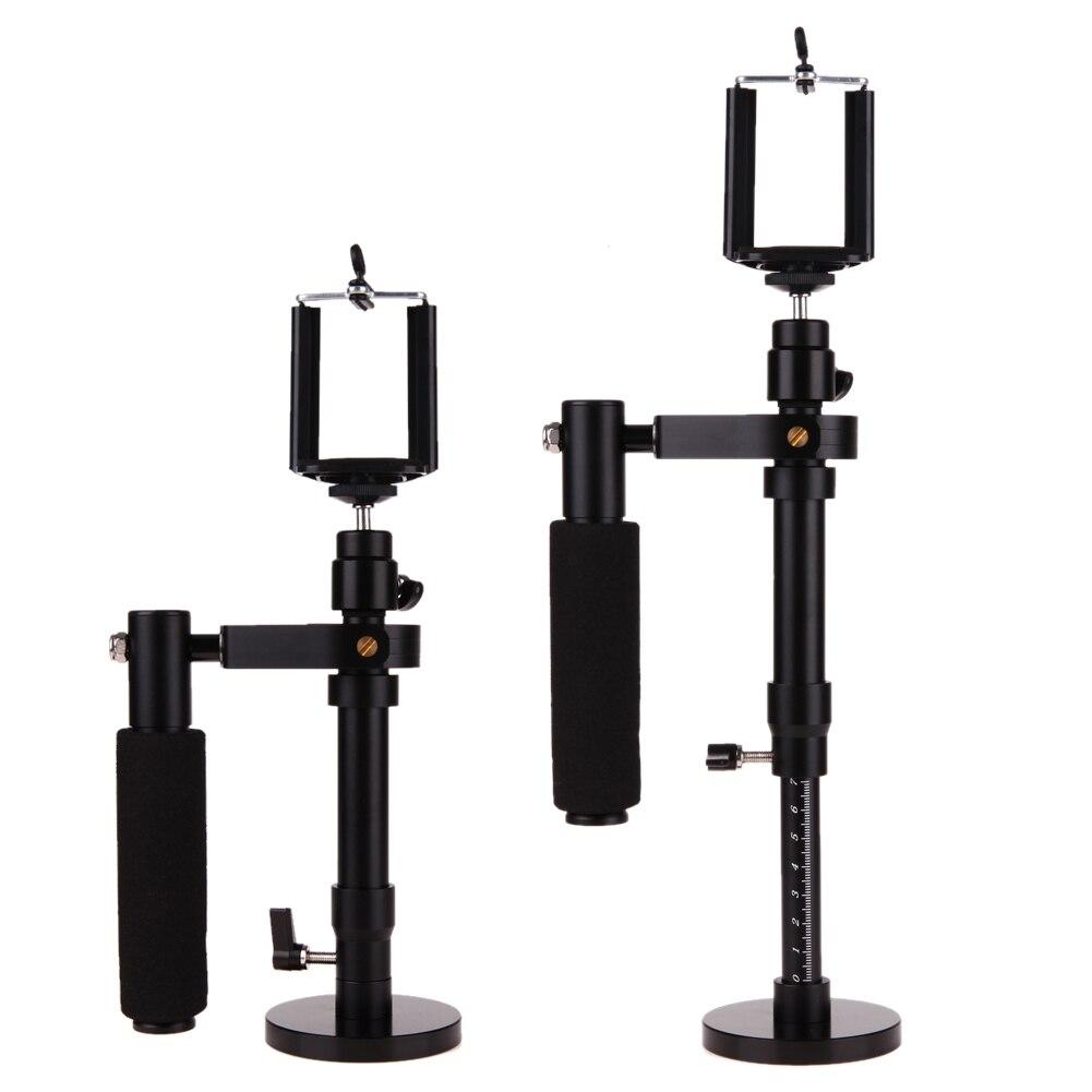 Regolabile Palmare Riprese Video Stabilizzatore Steadycam Steadicam per SJCAM Gopro Fotocamere REFLEX Digitali per Il Iphone 6 7 Più Il Telefono Samsung